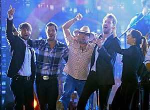 Jason Aldean, Luke Bryan, and Lady Antebellum