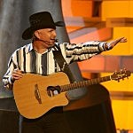 Garth Brooks at the 43rd ACM's