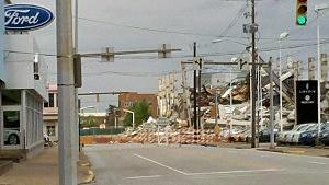Demolition of Executive Inn