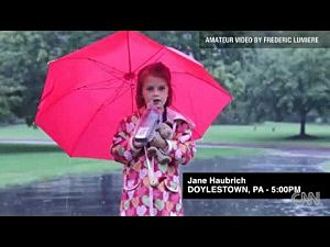 5 year-old weather reporter