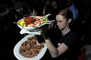 Restaurant servers
