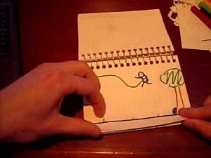 Flip book of love
