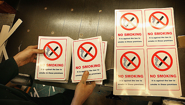 a smoking ban too far A hurley official said it would be a progressive move for public health and the environment, especially in the wake of the state's workplace smoking ban, which went into effect this year.