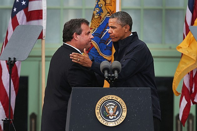 President Obama and Governor Christie