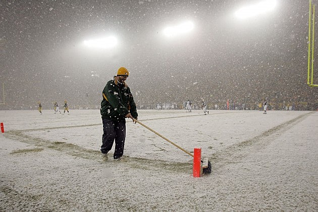 Snowy Lambeau