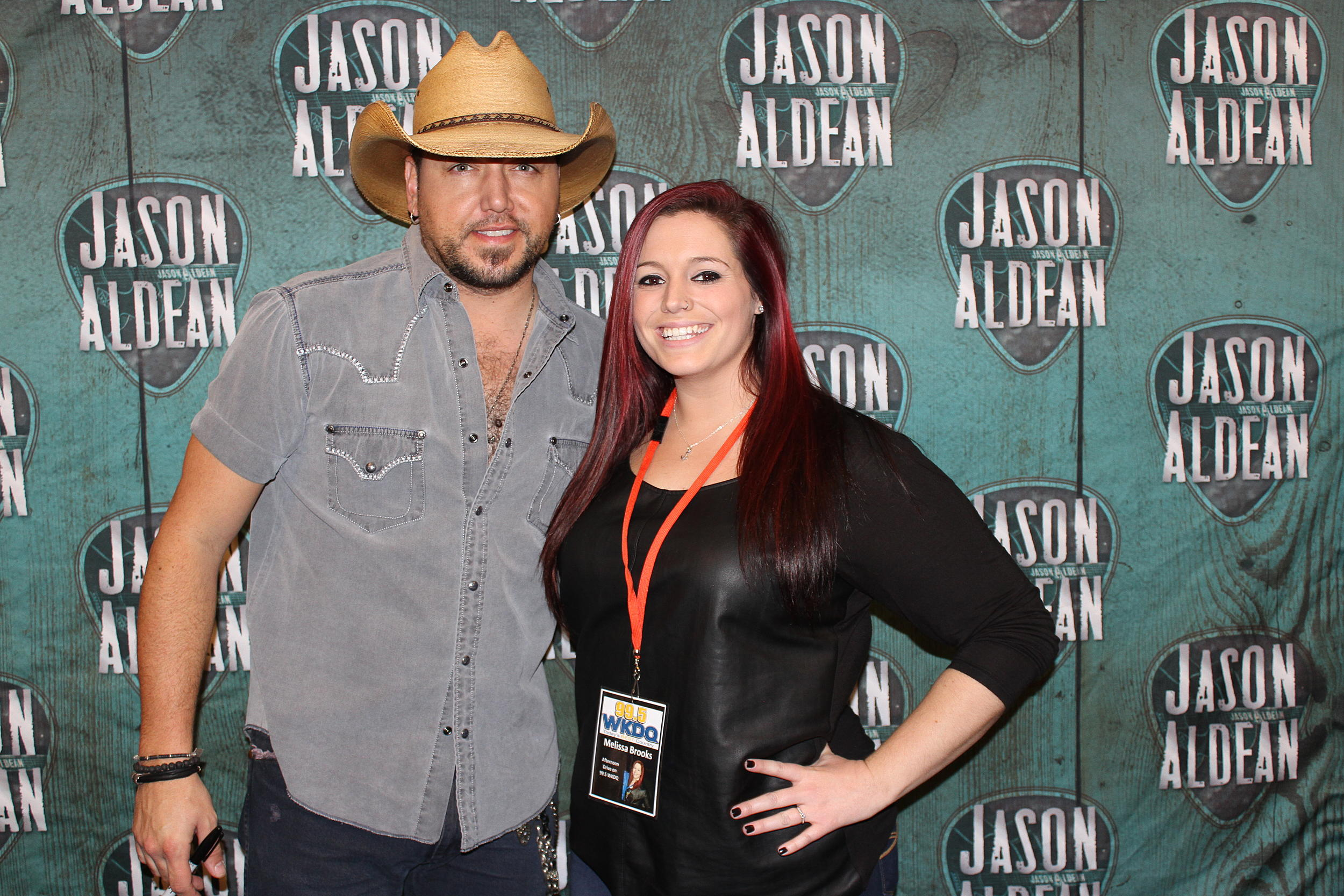 Jason aldean meet and greets jason aldean sold out the ford center one more time this past friday and some our the wkdq listeners had a chance to meet him check out the pics here kristyandbryce Images