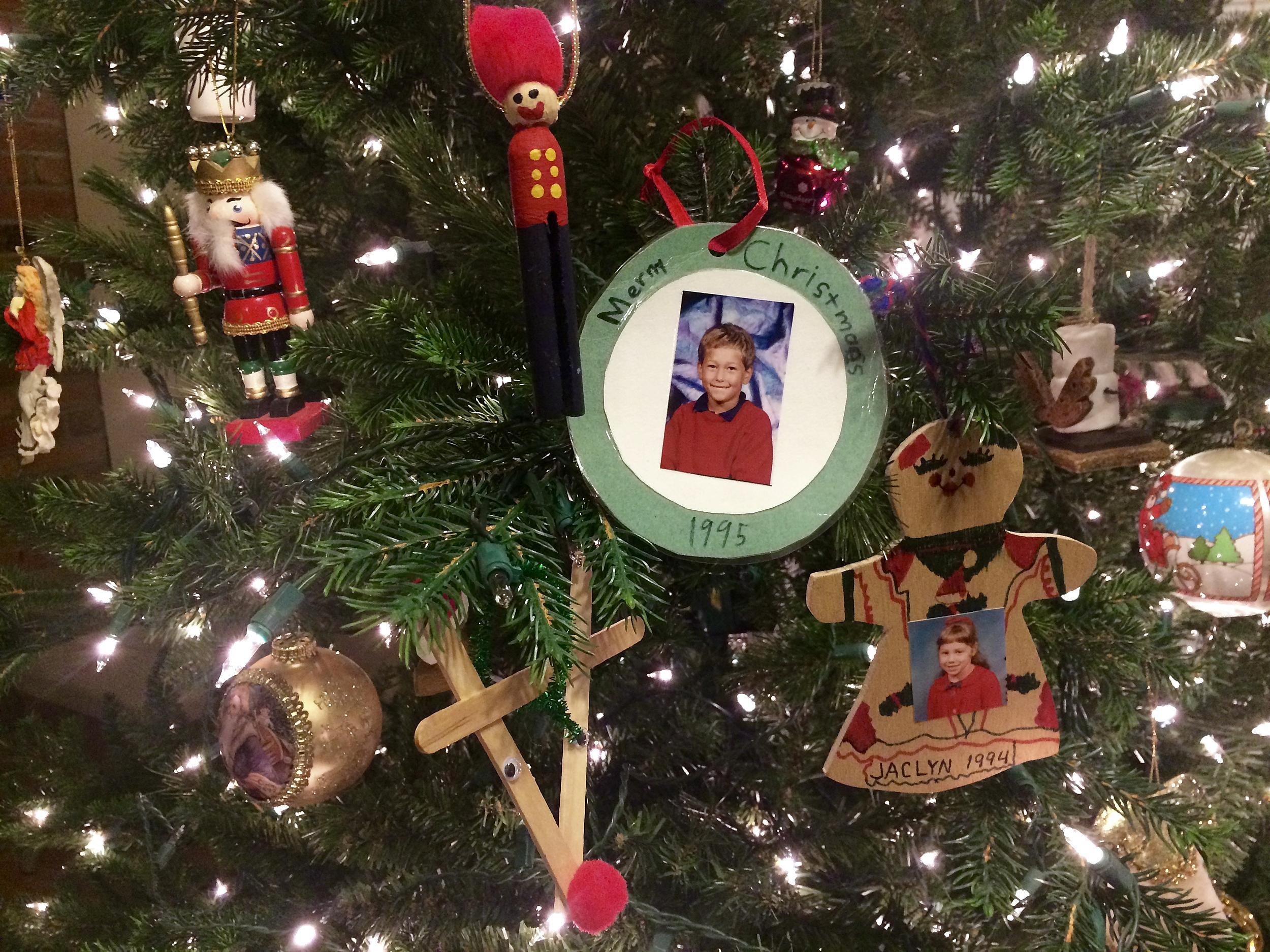 Deb's family Christmas tree; credit by Deb Turner