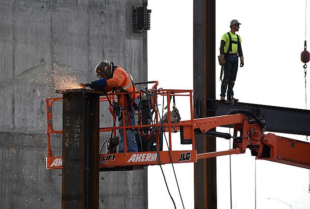 Las Vegas Arena Construction Site Tour